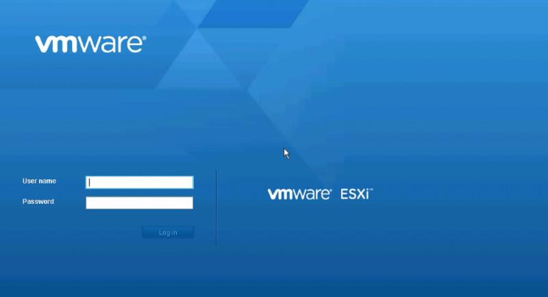 Tạo máy ảo trên ESXi 6 5: Windows Server 2016